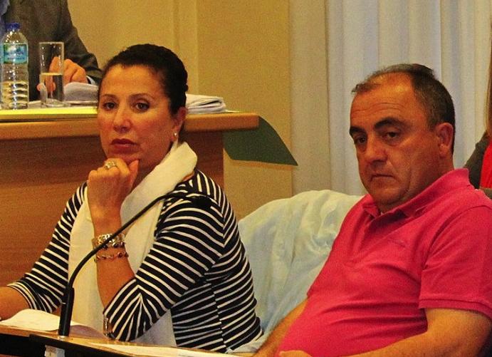 Carmen Fraga e José Pazos